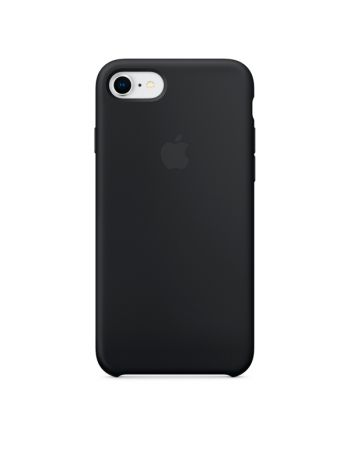 Чехол для iPhone Apple iPhone 8 / 7 Silicone Case Black